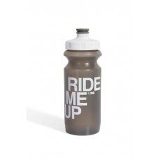 Фляга 0,6 Green Cycle GBT-512M Ride Me Up с Big Flow valve, LDPE gray nipple/white matt cap/gray bottle