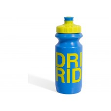 Фляга 0,6 Green Cycle GBT-512M Drink & Ride с Big Flow valve, LDPE blue nipple/ yellow matt cap/ blue matt bottle BOT-26-66 АРТ.:2902 Green Cycle